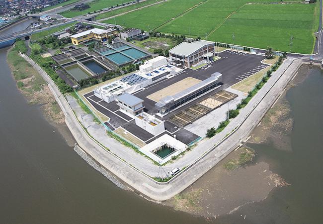 横瀬浄水場築造建築工事